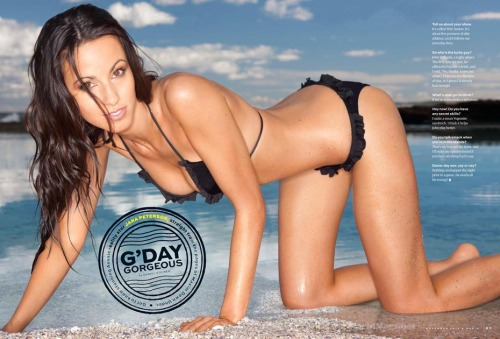 Swimsuit model and 'WAG Nation' star Jana Peterson has now been featured in the November issue of MAXIM magazine, USA.Image taken from our shoot 'Jana Peterson'.