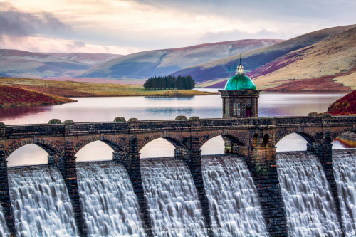 woodendreams:  (by Fragga) Craig Goch Dam, Rhayander Dams, Elan Valley, Wales.