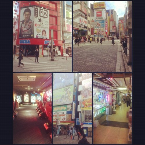 Early day in Akihabara such a damn cool place… Will be spending mucho time here #arcade #anime #manga #toys