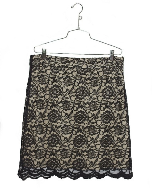 Michael Kors - Lace Skirt  $50  http://voiciclothing.bigcartel.com/product/michael-kors-lace-skirt