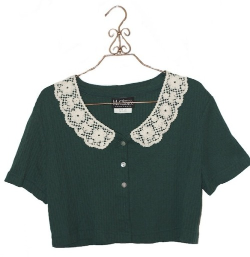 My Choice - Green Crop top $15
