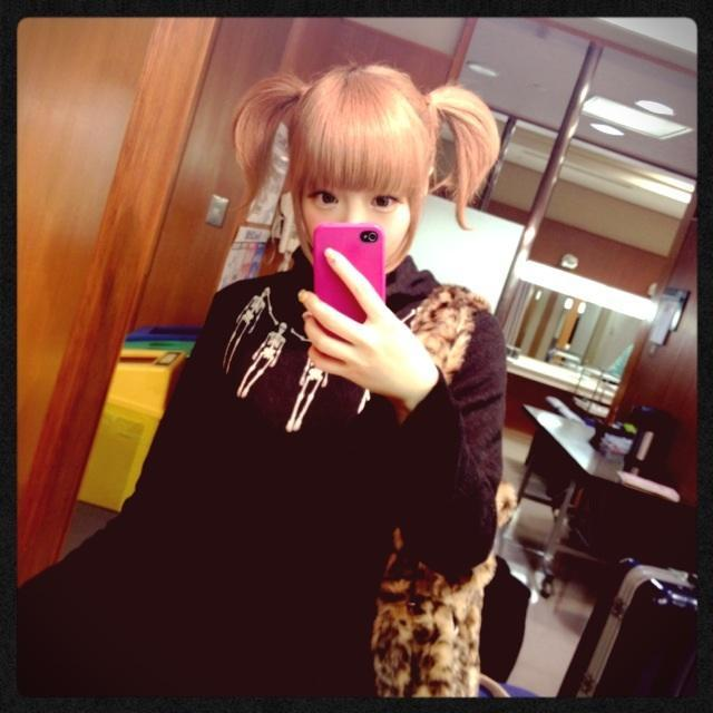 kyarychan:  [3:28 PM] When I put my real hair into pigtails they're so short