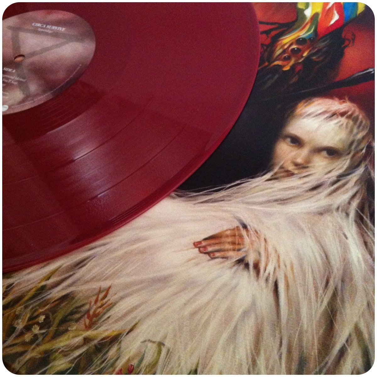 "wolfandhound:  Circa Survive - Appendage EP12"" oxblood coloured Vinyl Record Store Day ExclusiveLimited to 2000 copies"