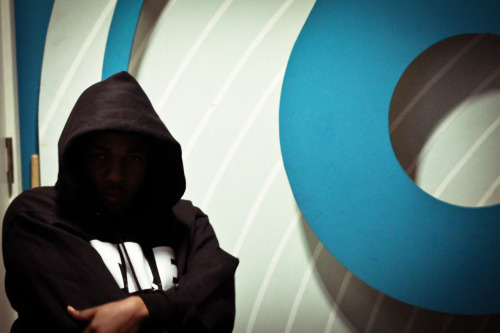 On Monday @KendrickLamar passed through @bbc6music for a chat with @gillespeterson. I'm just importing photos from the day to my Mac and thought I'd stick this one up, on a real moody tip.  The interview will be on BBC 6Music, Saturday December 1st, 3-6pm. Look out for the  little freestyle over TNGHT's 'Higher Ground' as well.