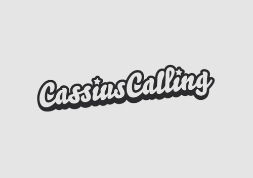 Logo design for alternative rock / pop punk band 'Cassius Calling'.