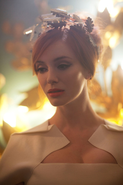 edenliaothewomb:  Christina Hendricks, photographed by Greg Williams for Vivienne Westwood.