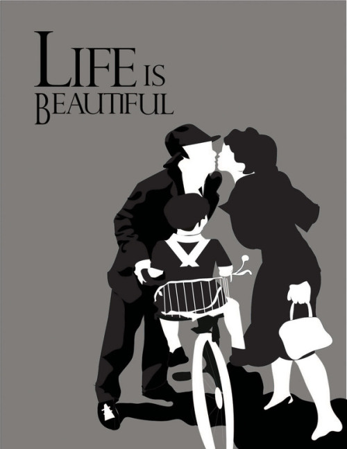 minimalmovieposters:  Life Is Beautiful by Luz Delgado