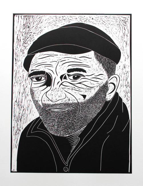 A3 Lino cut of a fisherman I've been working on over the past few weeks. Available here.