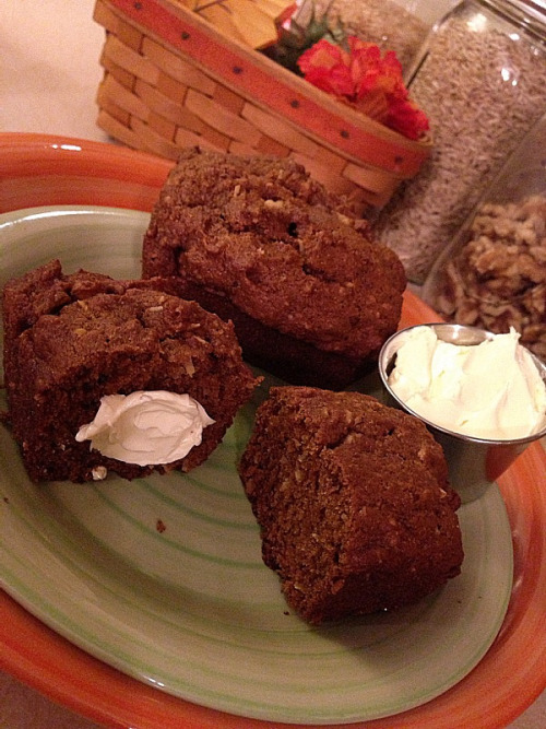 (Click here for recipe Perfect Pumpkin Mini Loaves)