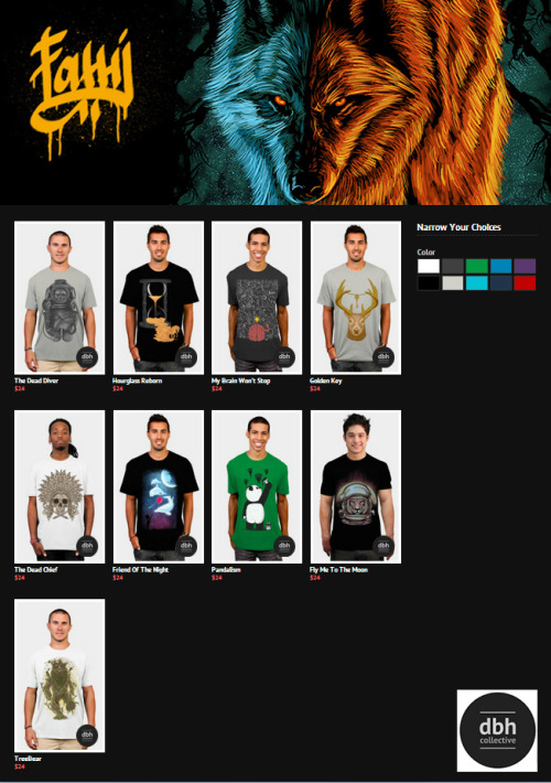 My Store at DBH Collective Check my store here : Designbyhumans