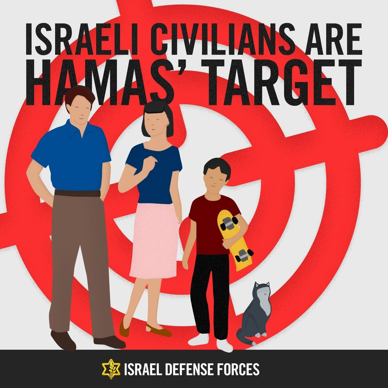 This is how Hamas sees Israel.