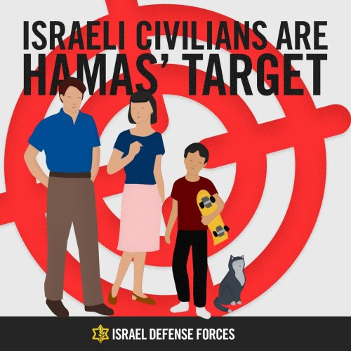 idfonline:  This is how Hamas sees Israel.  The Israeli Defense Force has a tumblr.