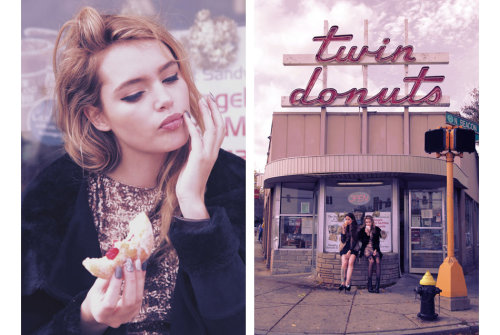 jenini:  check out our latest lookbook shot in the city dearest to my heart… the bar where so many things ended and began… and the town i call home.