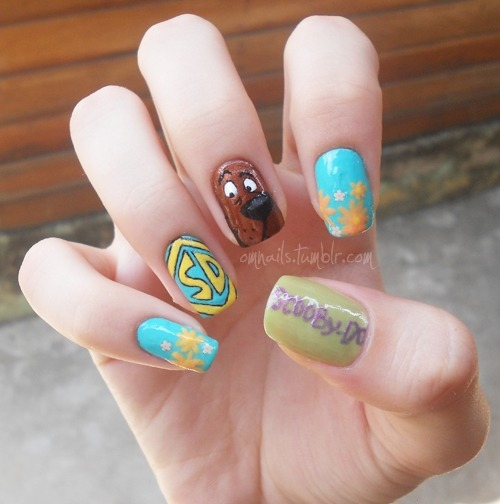 Scooby-Doo! (facebook) (+nails)
