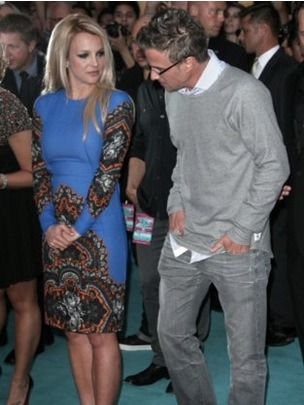 Are Britney Spears and fiance Jason Trawick in a rough patch? Insiders are claiming that Jason is getting fed up with Britney's demands and requiring him to constantly check-in. They also state Jason puts Britney on speaker so his friends can hear her nag. Britney's rep denies all of it but, that's the rumor.