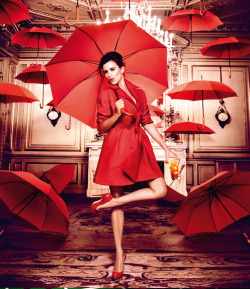 Penelope Cruz for 2013 Campari Calendar