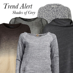 Trend AlertThe talk of the town, now also for your wardrobe! You can find our grey sweats here