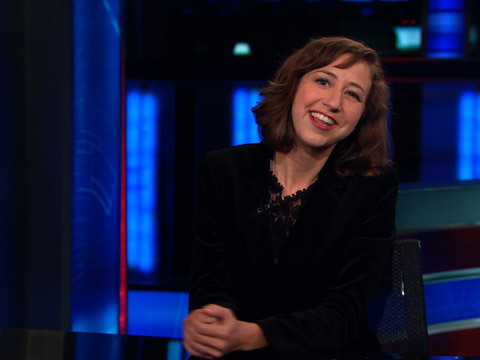 Full Episode: Kristen Schaal explains why single women don't care about America's future, The British Evasion, and Jon Meacham. http://on.cc.com/ZB8sph