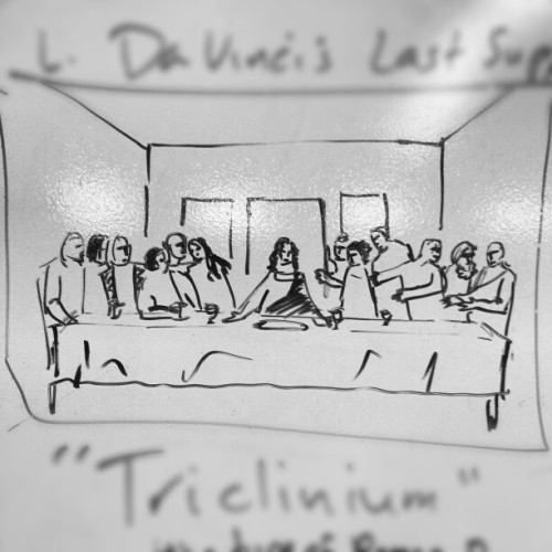 Davinci's The Last Supper by Me