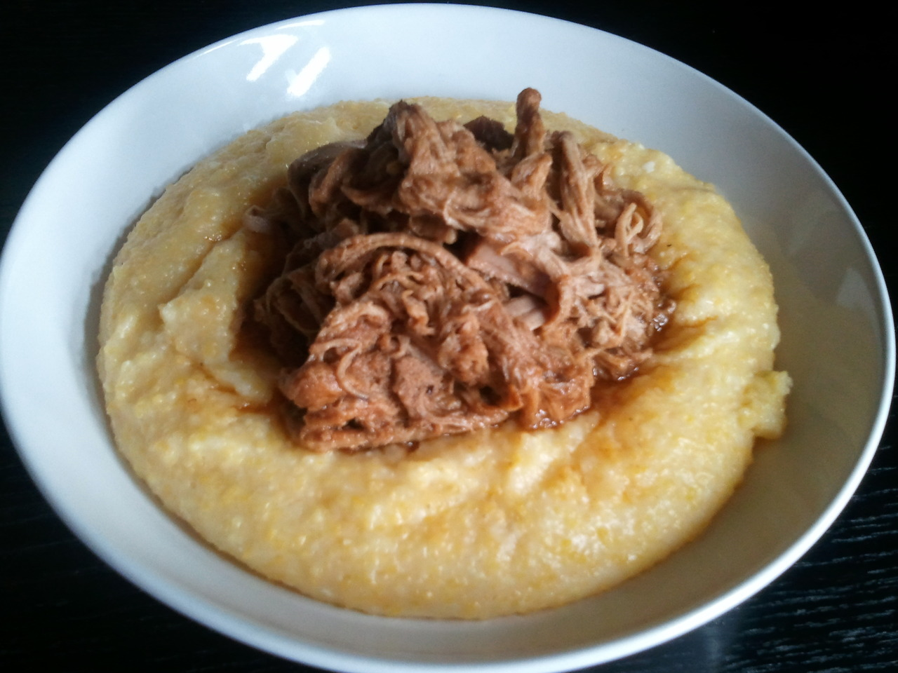 Slow comfort Food.  Get Comfortable with Crock Pot Pulled Pork and Cheesy Grits Love food? Join Gastropost for fun weekly food missions and your food published in National Post!