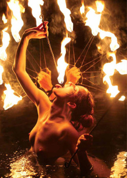 fantomsdancer:  THE BEAUTY OF FIRE BREATHING, MY FASCINATION WITH FIRE POI…