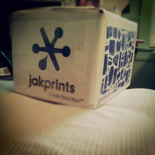 lenzdavisionary:  I love getting new prints :) #jakprints