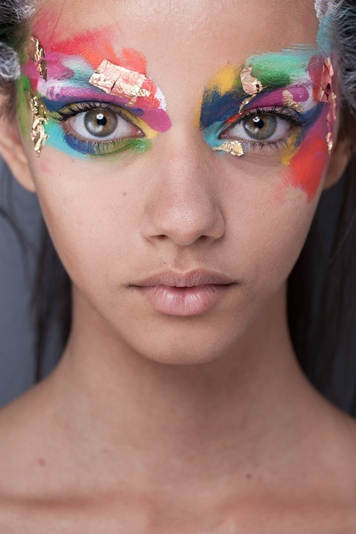 delighte:  mildbliss:  can't begin to say how much i love the make up  ♡love so much♡