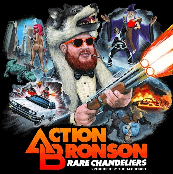 It's here! Download Action Bronson's new mixtape Rare Chandeliers now.