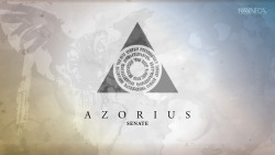thatguyjamesart:  11-15-12 Wallpaper: Azorius  My Guild!></a><div id=