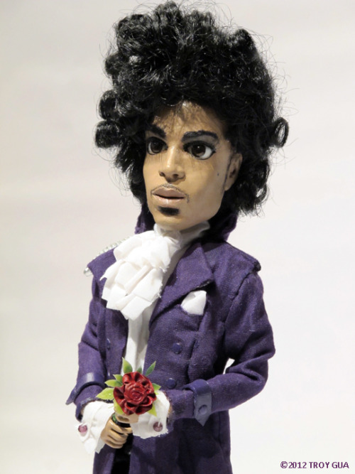 It's a sad day in the world when Prince doesn't appreciate doll-sized recreations of his album covers…