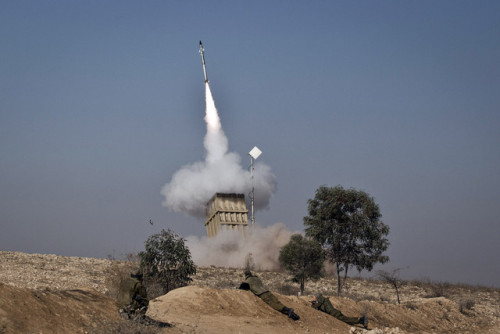 "(via Gaza Militants Aim Missiles at Israel After Air Attacks - Bloomberg) - - - - - - - - - - - - Israel and Palestinian militants exchanged rocket fire and air strikes as Prime Minister Benjamin Netanyahu said his military is ready for a ""substantial expansion"" to halt attacks from the Gaza Strip. The worst violence in four years between Israel and Gaza militants began yesterday when Ahmed al-Jabari, the leader of Hamas's military wing, was killed in a missile strike. Israeli air attacks have subsequently targeted more than 230 rocket storage or launching sites in Gaza, the army said.  The escalation raises the risk of a wider conflict and poses an immediate test for Israel's peace treaty with Egypt. Hamas, an Islamist movement considered a terrorist group by Israel, the U.S. and the European Union, has appealed for help from Egypt's Muslim Brotherhood leaders. — Bloomberg."