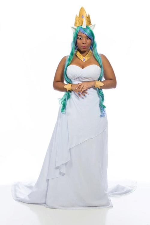 loudblackram:  cosplayingwhileblack:  X Character: Princess Celestia Series: My Little Pony: Friendship is Magic  The best.