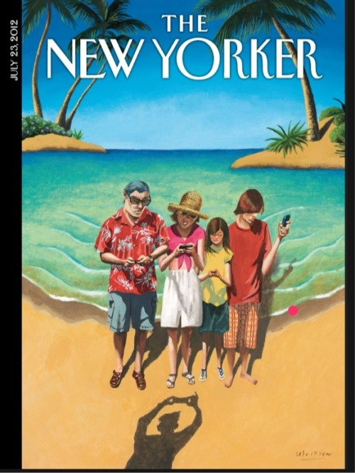 (via Twitter / gussilber: This week's New Yorker cover …)