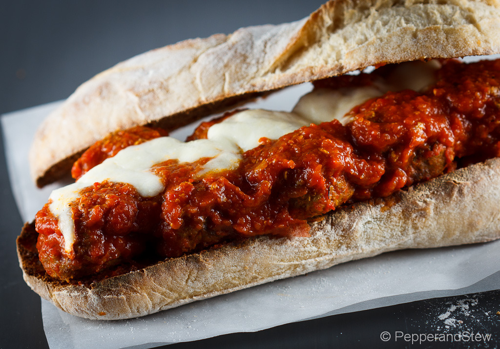homeofafricanfood:  The Mighty Jollof Meatball Sub Sandwich Recipe:  http://www.pepperandstew.co.uk/?p=1635 #africanfoodmadeeasy  This is utter fuckin geniius