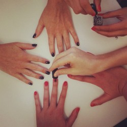 meanwhile on the twelfth floor. see our new nail polish on the blog today!  (at kate spade new york)