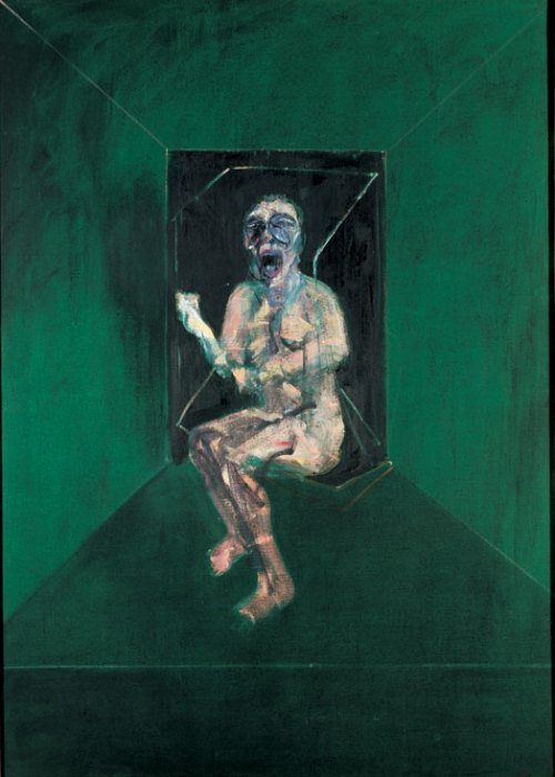 trulydread:  Francis Bacon - Study for the Nurse in the Battleship