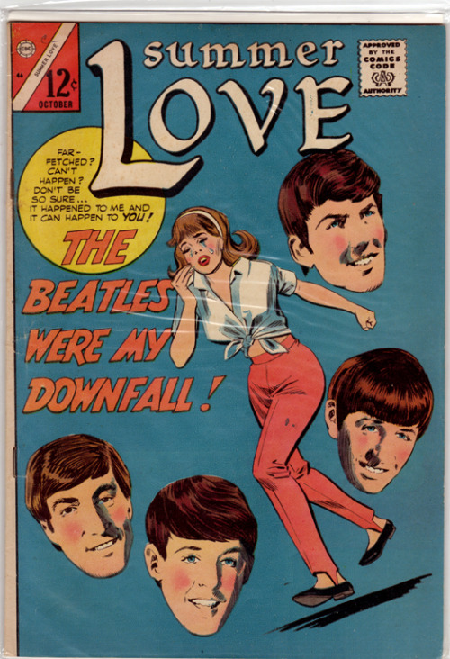 (The Beatles in Vintage Comic Books)  The Beatles have been featured in many comic books over the years including that time they teamed up with Batman. See More Here