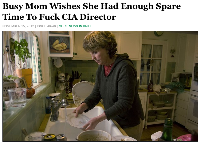 """huffpostcomedy:  Full Story.  also appropriate """"busy [anyone]"""""""