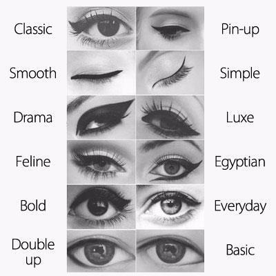 lizdexia:  Most of these would make me look like a drag queen — fun eye makeup is wasted on those of us with small hooded eyes — but it never hurts to try.