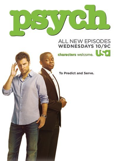 dulehill:  It's official… Psych was nominated for Fave Cable TV Comedy in the People's Choice Awards! Psych-Os, you know what to do - GO VOTE and spread the word! -http://bit.ly/arSy9z