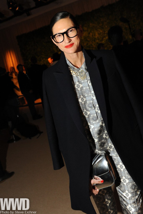 womensweardaily:  Jenna Lyons at the CFDA/Vogue Fashion Fund Party