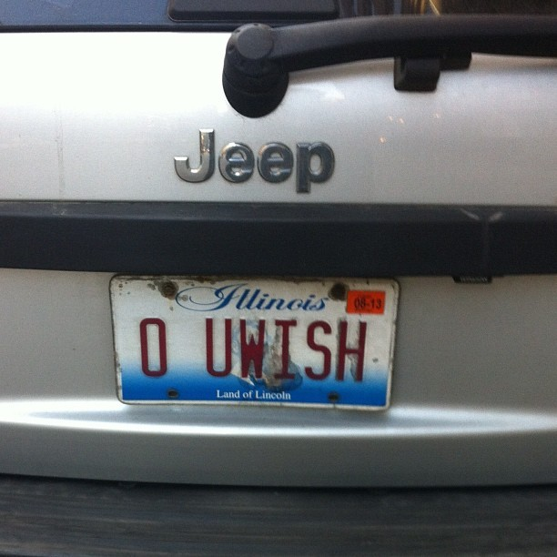 Flawless license plate game