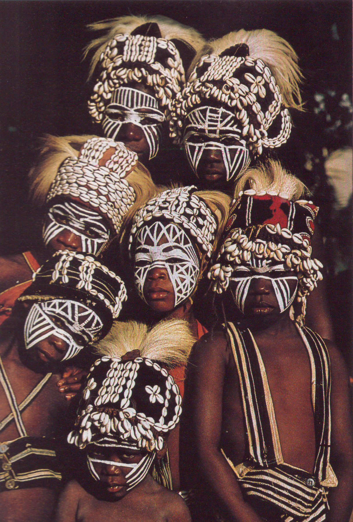 kicker-of-elves:  Dan Tribe   Ivory Coast    National Geographic July 1982     Michael and Aubine Kirtley