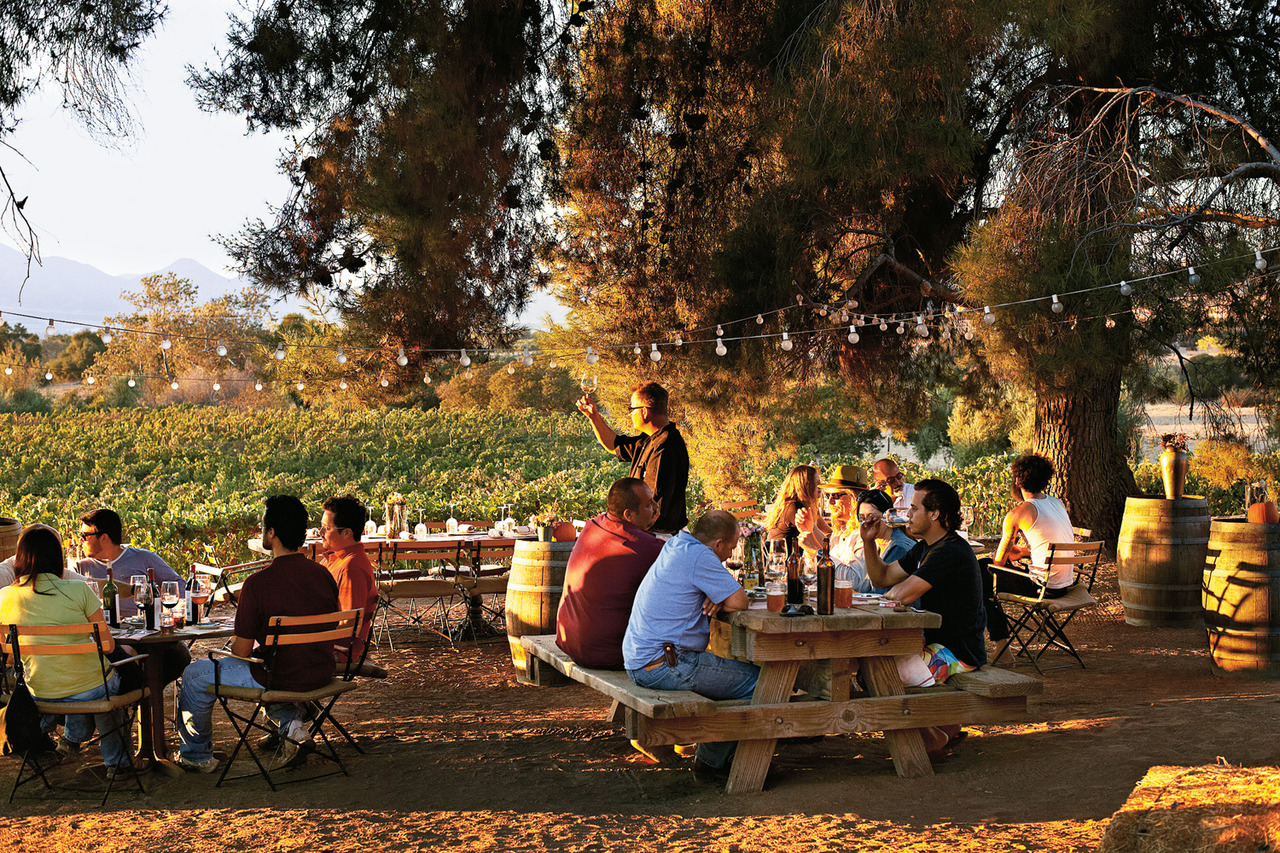 Mexico's wine country is at peak ripeness. Just don't call it the New Napa.  (Photo: Adrian Gaut)