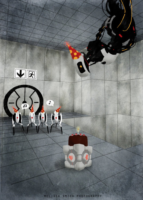 gamesnrock:  Glados' Birthday.