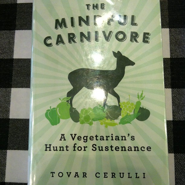 The Mindful Carnivore. I'm 52 pages in. AWESOME book. So well written. #paleo