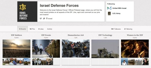 Israel Defense Forces (idfonline) on Pinterest