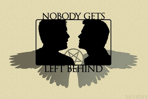 Nobody Gets Left Behind ♛ available as tees, posters, stickers, iPhone cases and more [here]