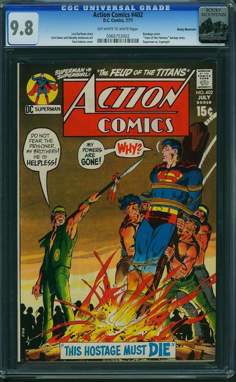Vintage Comic - Action Comics #402 (CGC)