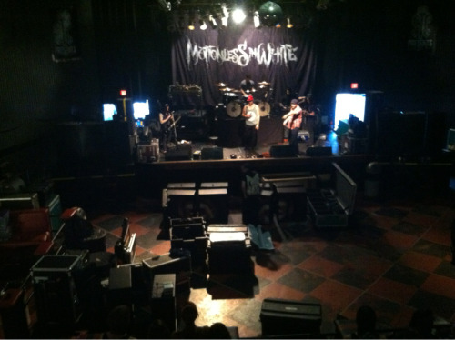 Motionless In White sound check!